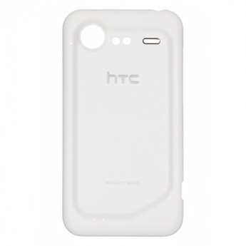 For HTC Incredible S Battery Door Replacement (Verizon Wireless) - White - With Logo - Grade S+