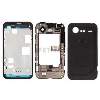 For HTC Incredible S Housing Replacement ,Black - Grade S+
