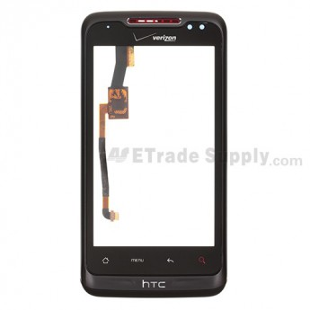 For HTC Merge Digitizer Touch Panel with Front Housing Replacement - With Logo - Grade S+