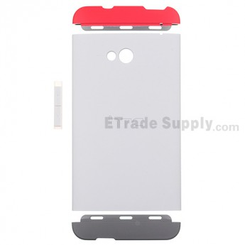 For HTC One Double Dip Protective Case - Gray - Grade S+