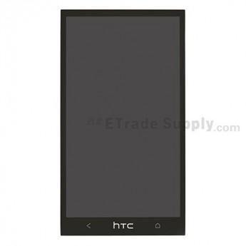 For HTC One LCD Screen and Digitizer Assembly Replacement - Black - Grade A