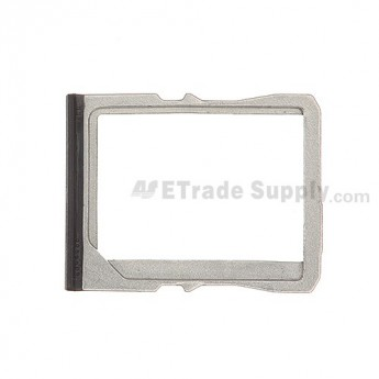 For HTC One SIM Card Tray Replacement - Black - Grade S+