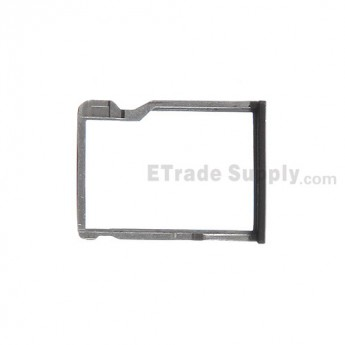 For HTC One M8 SD Card Tray Replacement - Black - Grade S+