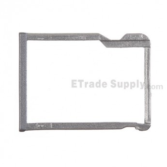 For HTC One M8 SD Card Tray  Replacement - Gray - Grade S+
