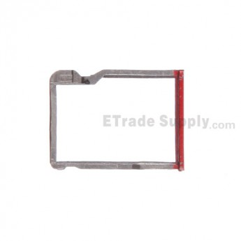For HTC One M8 SD Card Tray Replacement - Red - Grade S+
