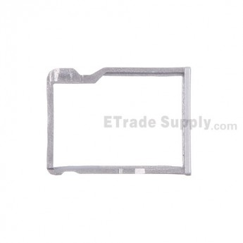 For HTC One M8 SD Card Tray Replacement - Silver - Grade S+