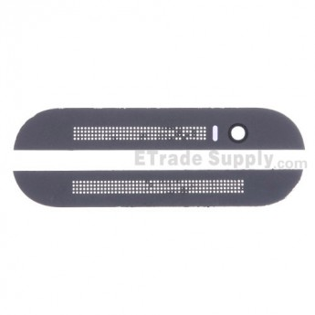 For HTC One M8 Top Cover and Bottom Cover Replacement - Gray - Grade S+