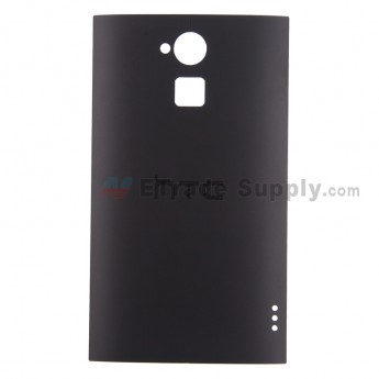 For HTC One Max Battery Door Replacement - Black - With Logo - Grade S+