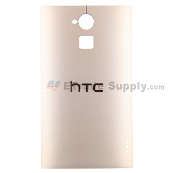 For HTC One Max Battery Door Replacement - Gold - With Logo - Grade S+