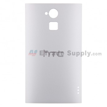 For HTC One Max Battery Door Replacement - White - With Logo - Grade S+