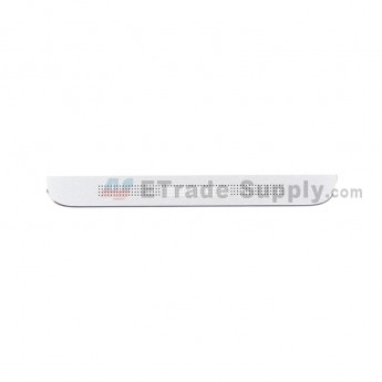 For HTC One Max Bottom Cover Replacement - White - Grade S+