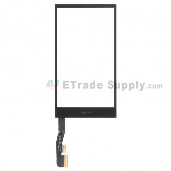 For HTC One Mini 2 Digitizer Touch Screen Replacement - Black - With Logo - Grade S+