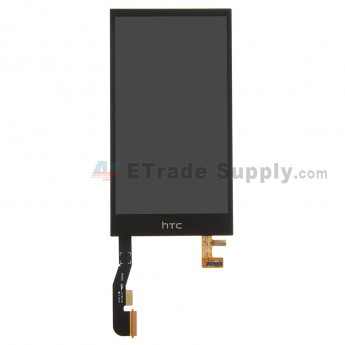 For HTC One Mini 2 LCD Screen and Digitizer Assembly Replacement - Black - With Logo - Grade S+