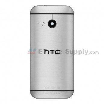For HTC One Mini 2 Rear Housing Replacement (Gray) - With Logo - With Words - Grade S+