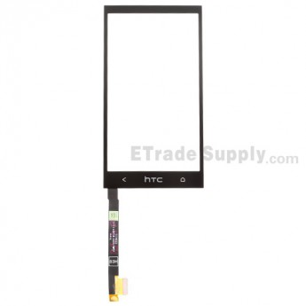 For HTC One Mini Digitizer Touch Screen Replacement - Black - With Logo - Grade S+