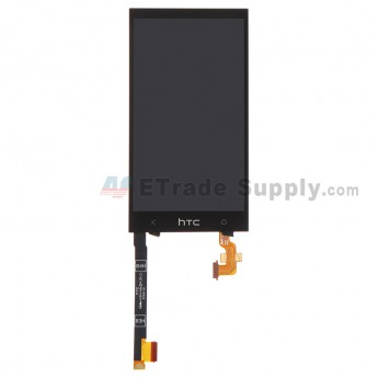 For HTC One Mini LCD Screen and Digitizer Assembly with Light Guide Replacement - Black - Grade S+