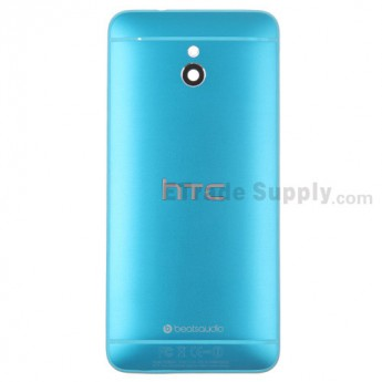 For HTC One Mini Rear Housing Replacement (Blue) - With Logo - With Words - Grade S+