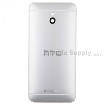For HTC One Mini Rear Housing Replacement (Silver) - With Logo - With Words - Grade S+