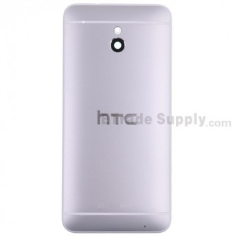 For HTC One Mini Rear Housing Replacement (Silver) - With Logo - Without Words - Grade S+
