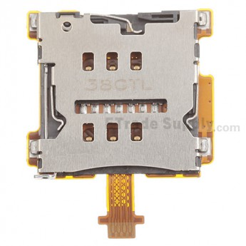 For HTC One Mini SIM Card Reader Contact  Replacement - Grade S+
