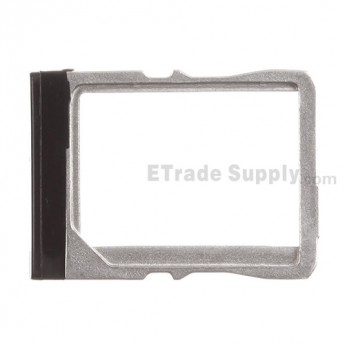 For HTC One Mini SIM Card Tray Replacement - Black - Grade S+