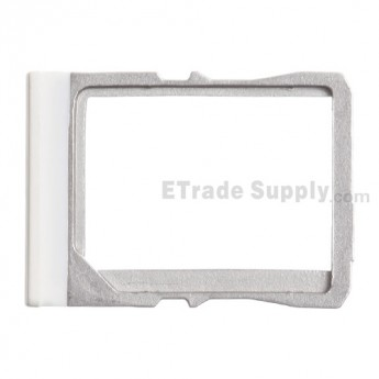 For HTC One Mini SIM Card Tray  Replacement - White - Grade S+