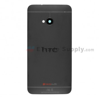 For HTC One Rear Housing Replacement (Black) - Sprint Version - Grade S+