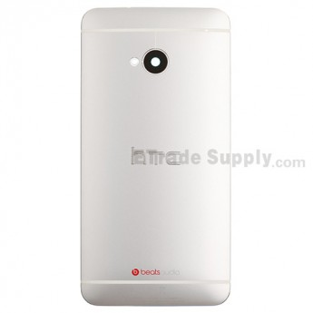 For HTC One Rear Housing Replacement (White) - Sprint Version - Grade S+