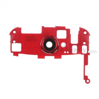 For HTC One S Internal Top Cover Replacement (T-mobile) - Red - Grade S+
