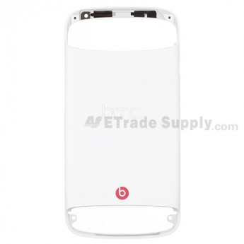 For HTC One S Rear Housing Replacement ,White - Grade S+