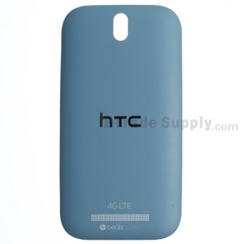 For HTC One SV Battery Door  Replacement (4G LTE) - Blue - Grade S+