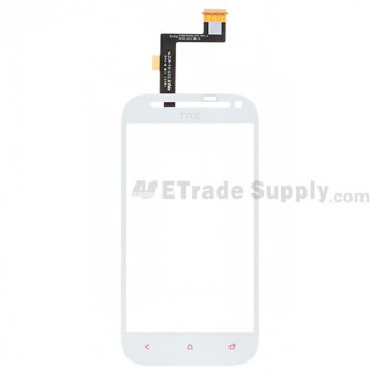 For HTC One SV Digitizer Touch Screen Replacement - White - Grade S+