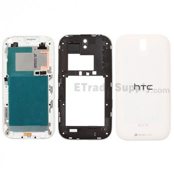 For HTC One SV Housing Replacement (4G LTE) - White - Grade S+