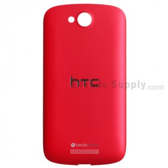 For HTC One VX Battery Door Replacement - Red - With Logo - Grade S+
