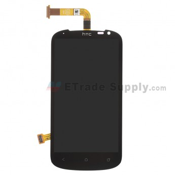 For HTC One VX LCD Screen and Digitizer Assembly Replacement (Solid) - With Logo - Grade S+