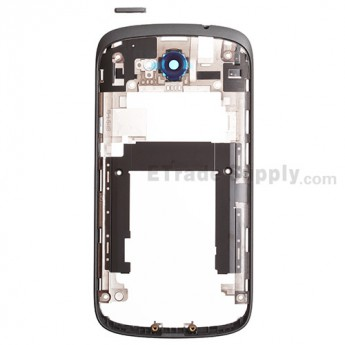 For HTC One VX Middle Plate Replacement - Black - Grade S+
