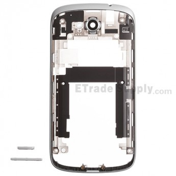 For HTC One VX Middle Plate Replacement - Silver - Grade S+