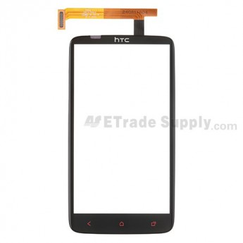 For HTC One X+ Digitizer Touch Screen Replacement - Black - Grade S+