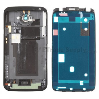 For HTC One X+ Housing Replacement (AT&T Version) - Black - Grade S+