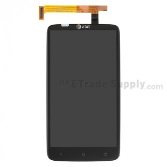 For HTC One X LCD Screen and Digitizer Assembly with Light Guide Replacement - Grade A