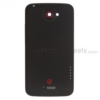 For HTC One X+ Rear Housing Replacement - Black - Grade S+