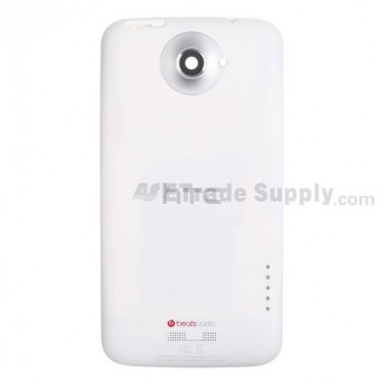 For HTC One X Rear Housing Replacement (AT&T) - White - Grade A