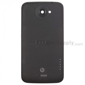 For HTC One X+ Rear Housing Replacement (AT&T Version) - Black - Grade S+