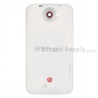 For HTC One X+ Rear Housing Replacement - White - Grade A