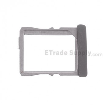 For HTC One X SIM Card Tray  Replacement (AT&T) ,Black - Grade S+