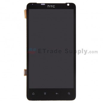 For HTC Raider 4G LCD Screen and Digitizer Assembly Replacement - Black - Without Logo - Grade S+