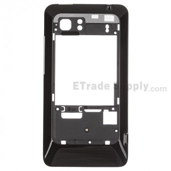 For HTC Raider 4G Rear Housing Replacement - Black - Grade S+