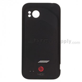For HTC Rezound Battery Door Replacement - Without Logo - Grade S+