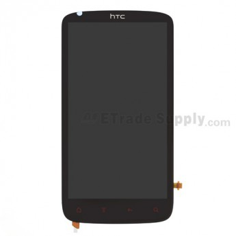 For HTC Sensation XE LCD Screen and Digitizer Assembly with Microphone Flex Cable Ribbon Replacement - Grade A