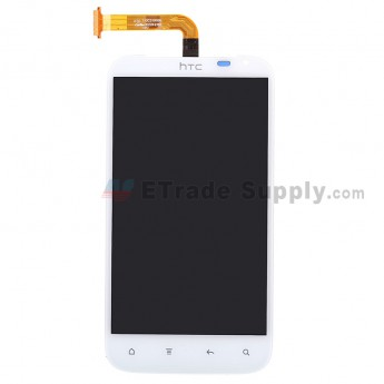 For HTC Sensation XL LCD Screen and Digitizer Assembly with Light Guide Replacement - Grade S+